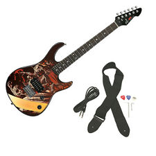 Peavey Rockmaster Full Size The Walking Dead - Zombies Walkers Electric Guitar