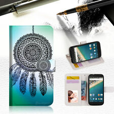Dream Catcher Phone Wallet Case Cover For Alcatel Pop Star -- A026