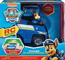 PAW Patrol - Ferngesteuertes Polizeiauto mit Chase - Figur, RC Fahrzeug in blau