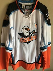 Mens sz 54 San Diego Gulls Hockey Jersey Minors Anaheim Ducks