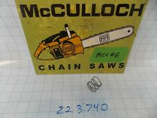Nos Oem McCulloch Trimmer Bump Head Line Spring 223740 Mac 80 90