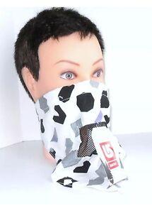 Burton Face Mask Scarf snowboard biker bandana white