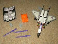 Transformers G2 vintage Starscream variant complete working jet w/instructions