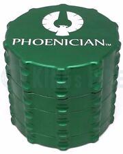 Phoenician Engineering - 4 Piece Herb Grinder - Medium Size - Green - US SELLER