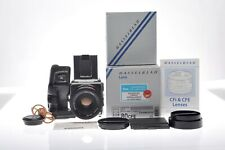 Hasselblad 503CW Chrom + Carl Zeiss Planar 80 mm f/2,8 CFE T*+ Magazin A12