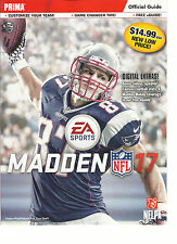 Prima Official Guide Magazine Madden Nfl * Customize Your Team * Game Changer