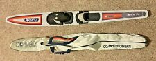 """Vintage Connelly USA 65"""" Team 1 SP With Case Slalom Water Ski USA Yellow Orange"""