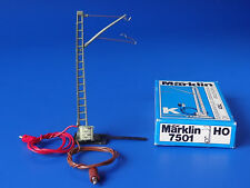 MARKLIN H0 - 7501 - Catenary Power Feeder Mast - K-Track / BOX - NEW