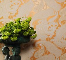 Vliestapete Marburg Astoria Tapete 53759 Barock orange lachs (3,74€/1qm)