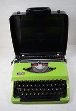 Vintage Collectible BROTHER 210 NAGOYA Japan Typewriter Type Writer Green Boxed