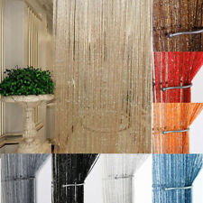 USA String Door Curtain Beads Room Divider Window Panel Tassel Fringe Decoration