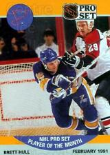 1990-91 Pro Set Player of the Month #3 Brett Hull