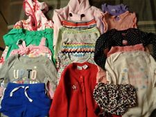 Lot of 18 pieces, girls 24 months clothing outfits