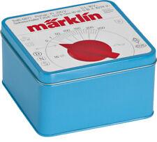 "Märklin H0 12509 Cookie Jar "" Blue Throttle Control "" Sheet Metal (no content)"