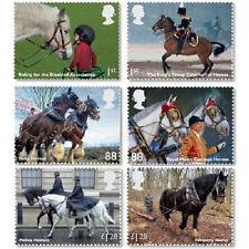 UK Working Horses Stamp Set MNH 2014