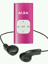 Alba 4GB MP3 Music Player Pink