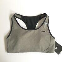 Nike Shape Sports Bra 2.0 - Gray Black 706579 size XS - High Support