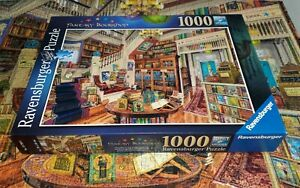"Ravensburger 1000 piece Jigsaw Puzzle ""The Fantasy Bookshop"" - VGC & Complete"