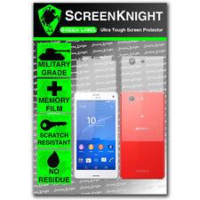 ScreenKnight Sony Xperia Z3 Compact FULL BODY SCREEN PROTECTOR military shield