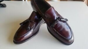 Shell Cordoan Classic Tass;el Loafers  Johnston Murphy Aristodcrat