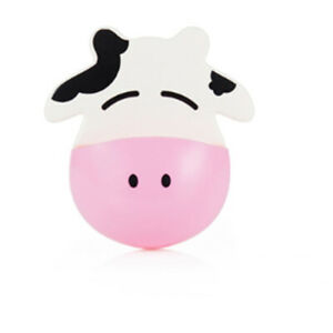 Cartoon Cows toothbrush holder free punching for Kids Bathroom Accessories Tool