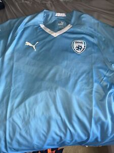 OFFICIAL ISRAEL NATIONAL FOOTBALL TEAM  Home Jersey XL PUMA SOCCER NEW WITH TAGS