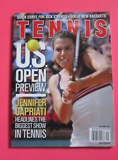 JENNIFER CAPRIATI TENNIS magazine September 2001 NEW YORK TIMES SUPPLEMENT