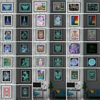 Luminous 5D Diamond Painting Cross Stitch Kit Embroider Home Art Decoration Gift