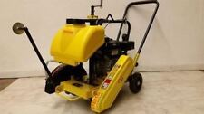 "New Packer Brothers PB14 Briggs 7 walk-behind concrete saw 14"" cement walkbehind"
