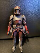 Custom star wars black series Carbonized Clone Commander Fox