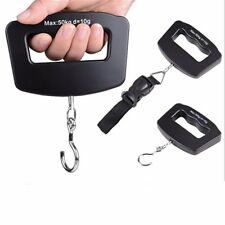 Electronic Portable Digital Luggage Weight Hanging Scale Travel 50 KG 10G