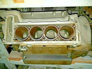 MASERATI BORA MEXICO FACTORY ORIGINAL EUROPEAN 4.7L UNSTAMPED ENGINE BLOCK NOS