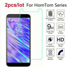 2PCS Tempered Glass Screen Protector For HOMTOM HT20 17 16 15 HT37 50 8 H5 6 S16
