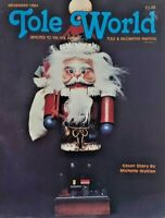 Nov 1984 Tole World Magazine Tole Decorative Painting Instruction Patterns 7290F
