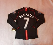 Manchester United 2007/08 Premier League Shirt - RONALDO #7 - Size Large