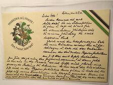 Köthen - Verbindung Frankonia - 1930 - Wappen / Studentika