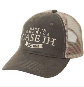 Case IH Two-Tone Oil Cloth Men's Trucker Cap