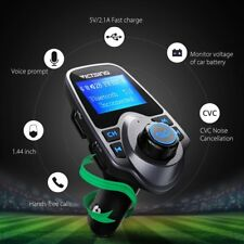 Wireless Bluetooth Fm Transmitter In-Car Mp3 Radio Adapter Car Kit Usb Charger