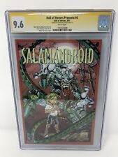 Hall Of Heroes Presents #0 Salamandroid Ethan Van Sciver CyberFrog CGC SS 9.6