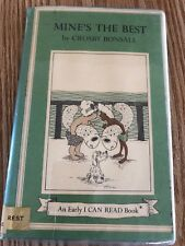 Mine's The Best By Crisby Bonsall I Can Read Book 1973