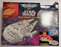 Micro Machines Space Star Wars Millennium falcon / Command Center Original Box