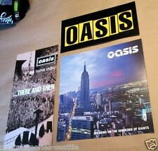 OASIS Lot Promo - Poster - Flat - And Record Store Display