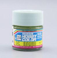 GUNZE SANGYO MR HOBBY AQUEOUS COLOR COLORE ACRILICO BLUE FS 35622 BLU 10 ml H314