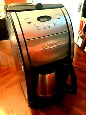 Used Cuisinart Automatic Grind and Brew 10 Cup Programmble Coffee Maker Dgb600Bc
