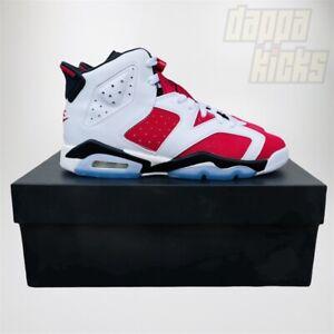 Nike Air Jordan 6 Retro Carmine Sz 6.5 GS 384665-106 2021