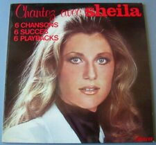 SHEILA ( Rare LP 33T) Chantez avec Sheila 6 Chansons 6 Succès 6 Playbacks