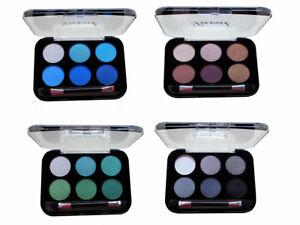 Laval Long Wearing Eyeshadow Palette 6 Shade Colour Eye Shadow Kit Set