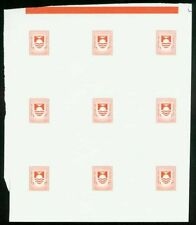 Kiribati 1981 Postage Due set COMPOSITE PROOF SHEET-7