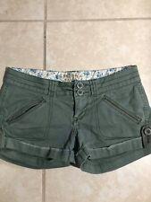 NWOT 0/S Arizona Olive Chino Shorts