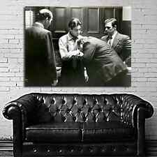 Poster Mural Movie The Godfather Mob Mafia 35x47 inch (90x120 cm) on Canvas